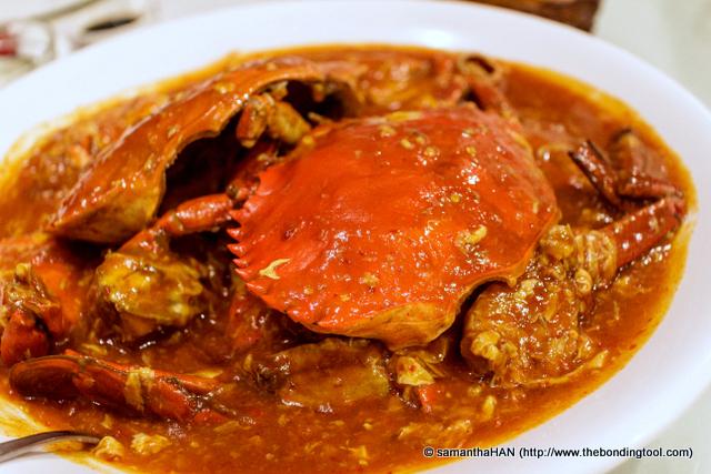 Chilli Crab - Sri Lankan.