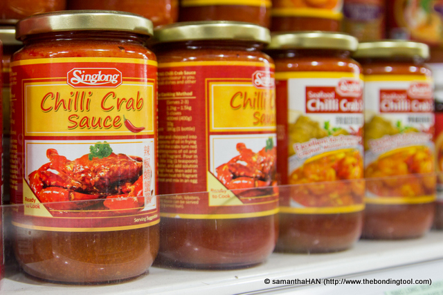 Ready-to-use bottled Chilli Crab Sauce.
