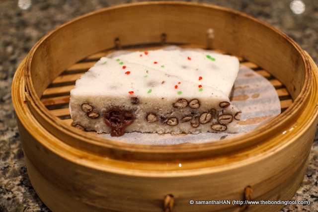 Steamed red bean rice cake recipe