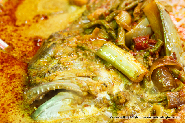 Assam Curry Fish Head used to be a sell-out but it's swimming in thin ice hovering around ordinary.