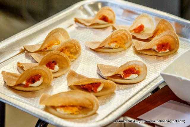 Crispy Thai Pancakes.