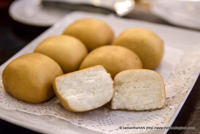 "Man Tou is Chinese Dinner Rolls. We usually eat them steamed or deep-fried as shown here. Now when you see this item, it is an accompaniment to some dishes with gravy. The buns act as a ""mop"" to mop up the delicious gravy of the main dish. So what dish did we have?"