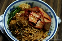 Wanton Mee from Tanglin Halt Road. Block 48A. Market and Food Centre.