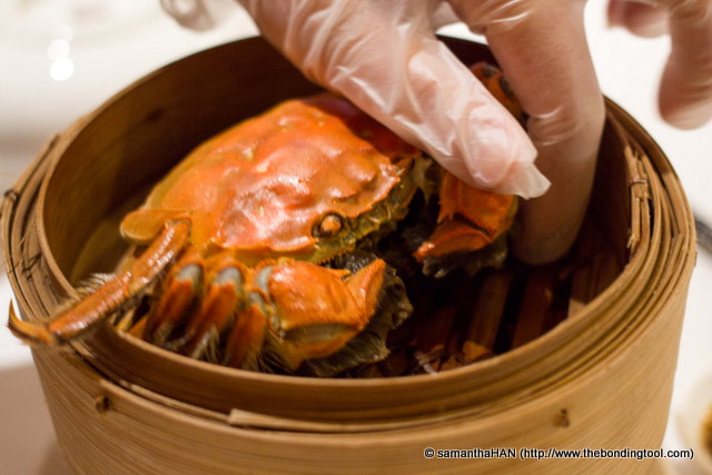 "As lay person, we do not know how to pick out the ""heart"" of the crab."