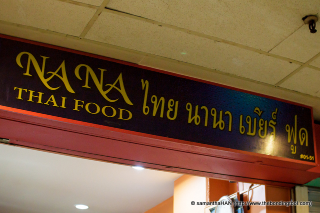 Na Na Thai Food at reasonable prices.