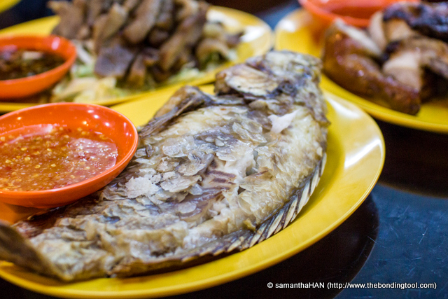 Thais like to leave some scales on the fish. Do they eat them? Is it some kind of delicacy?