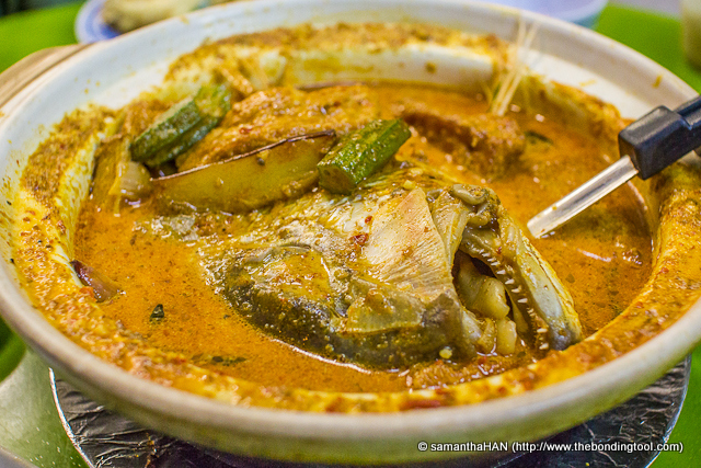 """This was the star of the meal but we were a little disappointed. The taste was ordinary but Adrian felt the fish wasn't too fresh """"lor kor"""". I felt it was overcooked rather than not fresh."""