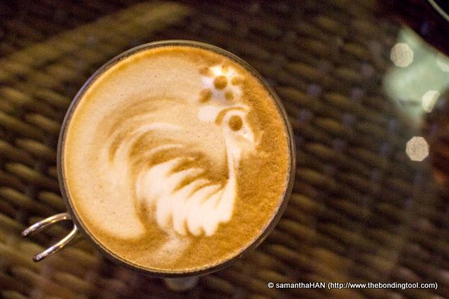 My Latte.