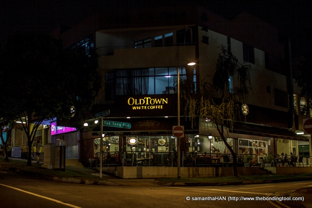 Old Town White Coffee Bukit Timah outlet in Singapore.