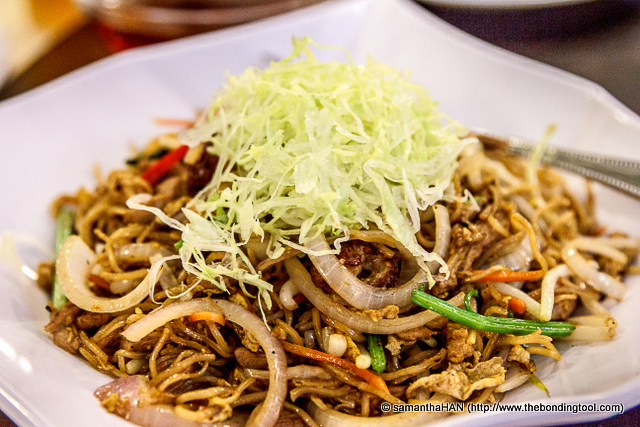For S$10 more, you can get the chef to stirfry the duck's meat with noodles (Old Geylang offers a variety of ways to make use of the remaining duck's meat.