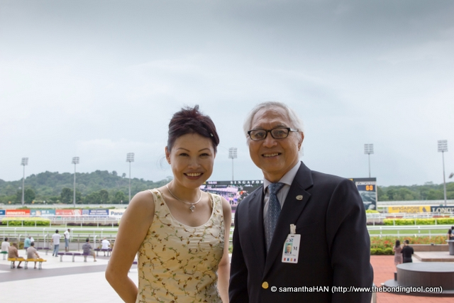 Meet Michael Tan. He is an appointed racing steward and has been one for the past 14 years.  He was my host that day. Racing stewards are officials of the race meeting responsible for enforcing the rules of racing.