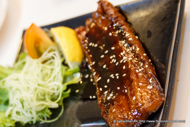 The eel was quite gamey, it made my tummy turned.