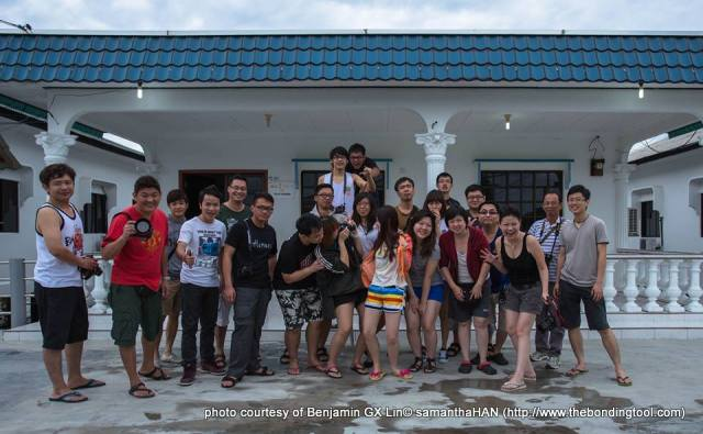 It is one of the blessings of good friends that you can afford to be stupid with them.<br />Photo courtesy of Benjamin GX Lin.<br />17th November 2013 at Kukup Resort.