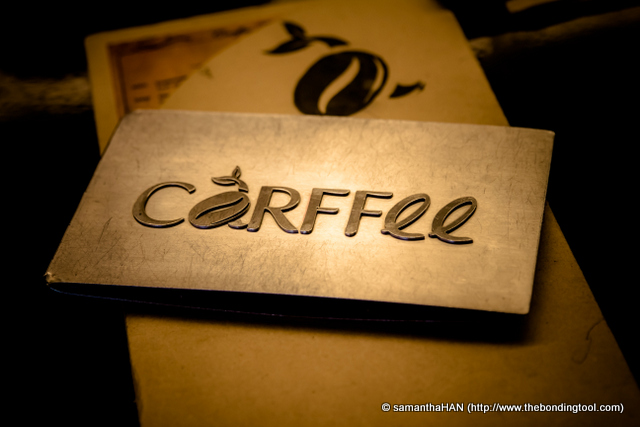 Carffee Coffee Bar serves coffee from GaBee Northern Italy Blend, GaBee Southern Italy Blend, Musetti Chocalate Drinks.