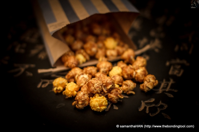 There are two flavours in this bag. The Chicago Mix combines sweet CaramelCrisp® with savory CheeseCorn™.