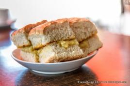 Fluffly textured Original Ciabatta with butter and GMNC's Kaya.