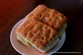 Original Ciabatta with butter and GMNC's Kaya.