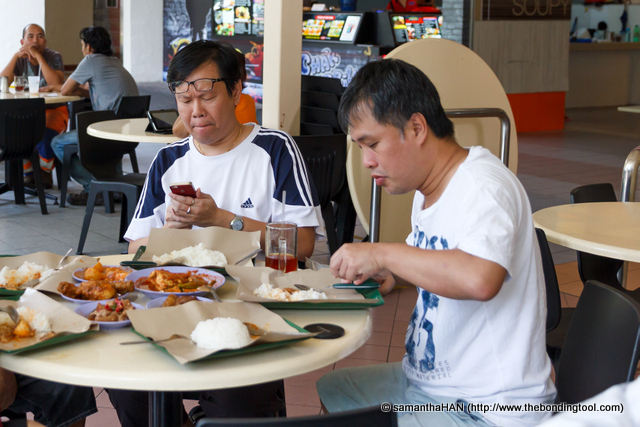 Philip already facebooking the lunch? I was late not only in arriving for lunch but also in postings, hahaha...