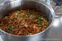 Fried Beehoon (rice sticks) for tea.