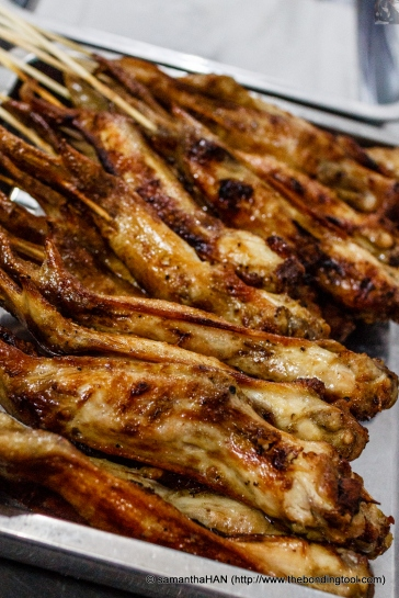 BBQ Chicken Wings.