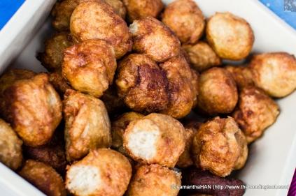Banana Fritters or Kuih Kodok- Malay cuisine.