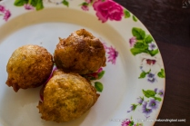 Banana Friiters - Malay cuisine. 3 fritters for MYR1 or 2, I forgot in my excitement.