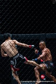 A.J. Lias Mansor vs Melvin Yeoh (both Malaysians).