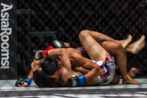 Gianni Subba very quickly took Chen Yun Ting to the floor.