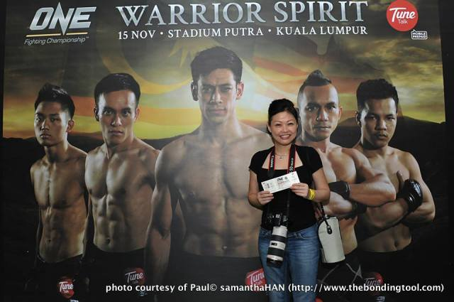My first ONE FC event.