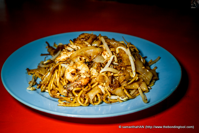 Char Kway Teow (CKT). This plate cost MYR5. Paul is not picky with food but if he ever says the food is not good... The food is NOT good.