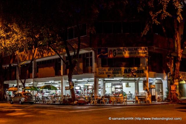 Restoran Alison 阿里山茶餐室 @ Sri Petaling, Kuala Lumpur, Malaysia.