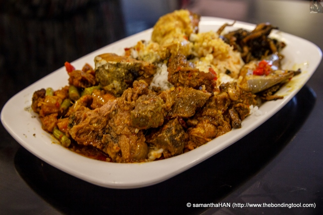My Malay Rice Lunch @ Yusof Arni's.