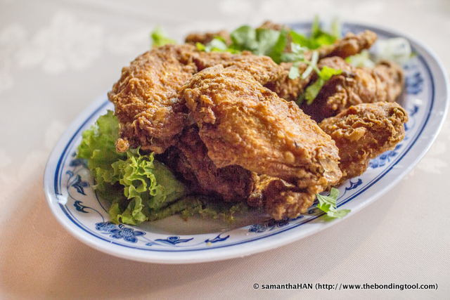 Har Cheong Gai (HCG) is Cantonese for Shrimp Paste Fried Chicken. The dish was well executed as usual, crispy on the outside and succulently juicy on the inside.