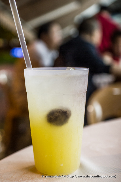 Lime juice with Chinese preserved sour plum. This will really perk up your appetite as well as cutting the greasy mouthfeel as you enjoy the food.