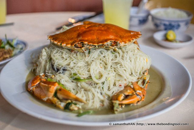 Fried Crab Beehoon.<br />Very tasty and yummy.<br />This dish and the Shark's Mouth (not a staple on the menu, call to check beforehand) were what we came for.