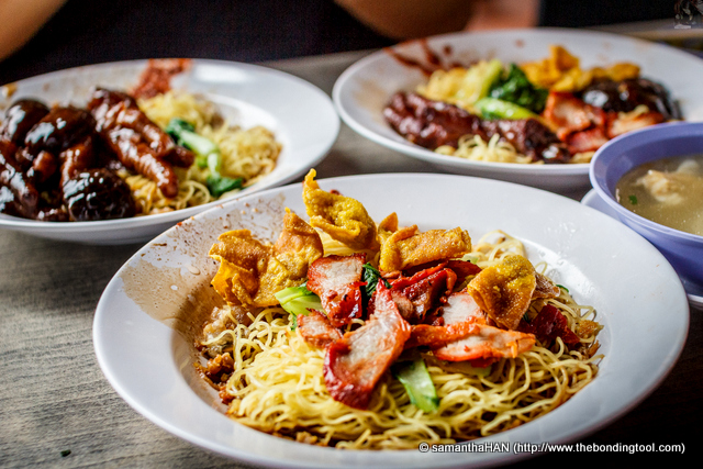 Everything seemed so delicious, we decided to order different types of noodles so we can taste a bit of everything.