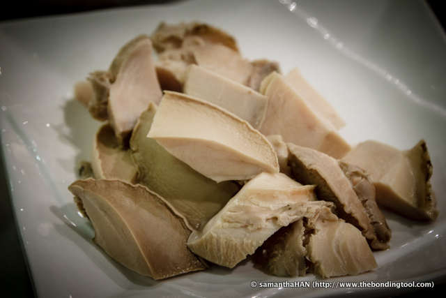 What do we do with these abalone chunks from the soup?