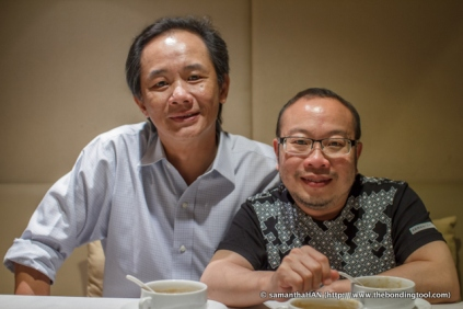 Yap (left) and Adrian.