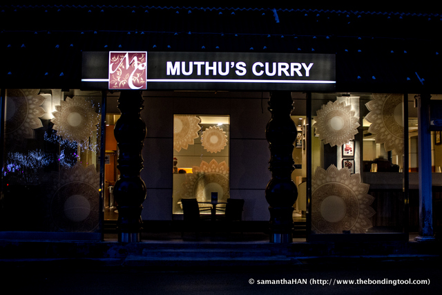 The Muthu's Curry @ Dempsey is more cozy and smaller compared to their flagship shop in Little India.