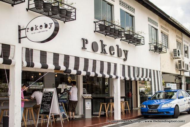 Rokeby. Australian inspired cafe by day and bistro bar by night.