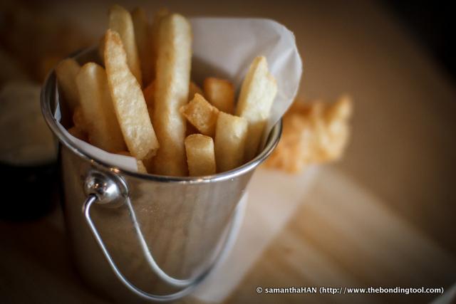 Crisp Golden Fries.