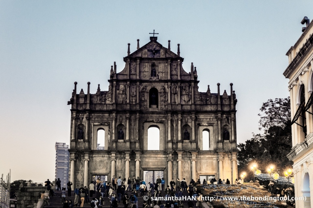Ruins of St. Paul, Macau. You must be wondering what has the Ruins of St. Paul in Macau to do with Vanessa's birthday.