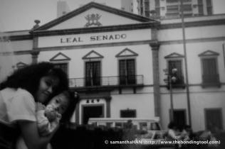 Senado Square in 1991