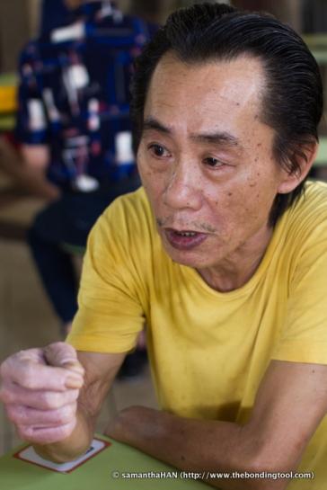 Mr. William Chan, creator of non-msg pork ribs prawn noodles.