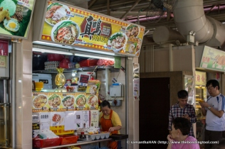 Zhen Ming Pork Ribs Prawn Noodle serves the best broth anyone could pay at a hawker stall.