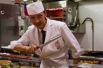 A lot of diners have mentioned that Chef Lawrence Chia looked stern but he's actually very humourous and friendly.