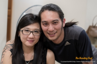 Josephine and Chef Daniel.