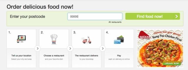 Ordering is as easy as 1-2-3-4.