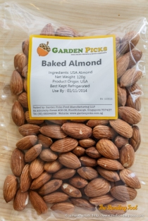 Baked Almonds. Product origin: USA