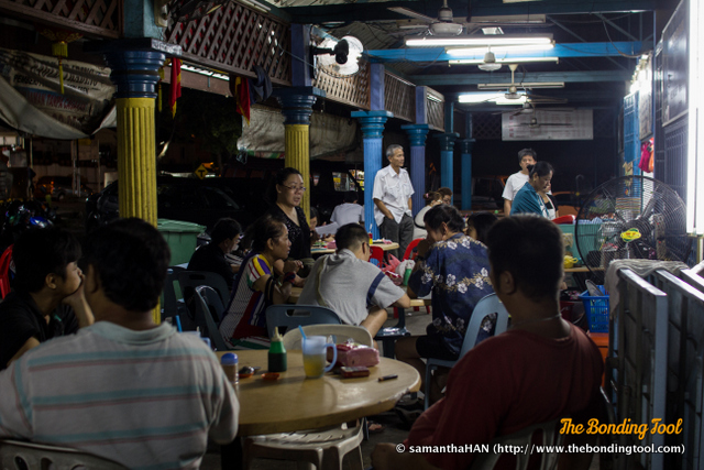 Daily business is brisk because the food is cheap and good!